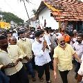 Jai Jagan slogans in Lokesh tour of East Godavari district