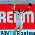 Ashwin registered super ton in Chennai test