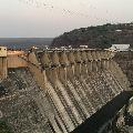 Srisailam Dam Gates Open