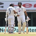 Rohit Sharma registered seventh ton in tests