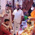 Hero Nithin ties the knot with Shalini in Hyderabad