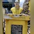 Nara Lokesh furious over demolition of NTR statue in Tenali