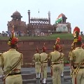 Independence day Full Dress Reharsala Near Red fort