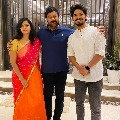 Life is beautiful fame Sudhakar met Megastar Chiranjeevi along with his wife Harika