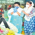 Political leaders paid tribute to Santosh Babu