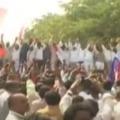 CPM Refuses Vijayasai Reddy Speach at Vizag Steel Plant