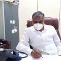 Harish Rao reviews corona patients condition