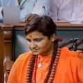 BJP MP Pragya Thakur makes allegations on Mumbai police commissioner