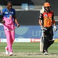 Once again Sunrisers posts respectable score