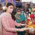 Urmila Gajapathi fires on Sanchaitha Gajapathi