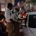 Man Ran After Seen Drunken Drive in Telangana Leaving Wife