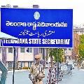 TS Govt starts secretariat building demolishing work