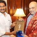 Jagan Meets Amitshah