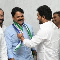 Chalamalashetty Sunil joins YCP as CM Jagan invited him into party