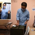 Minister KTR Cast his vote in Nandi Nagar