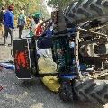 Farmers protests turn violent in Delhi