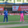 Rajasthan Royals won the toss and elected bat first against Delhi Capitals