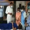 People hospitalised in Eluru with unidentified reasons