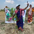Famous youtuber and biggboss fame Gangavva plants saplings