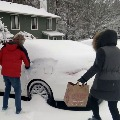 20 people dead in America due to snow fall