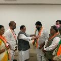 Kuna Srisailam Goud joins BJP