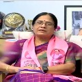 TRS MLC Candidate Vanidevi compares CM KCR with her father Late PV Narasimharao