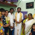 Kishan Reddy visits Telugu people in Chennai ahead of state assembly elections
