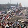 Hyderabad Vijayawada National Highway Closed near Suryapet