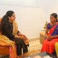 Kalvakuntla Kavitha assures a family to revive