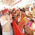 Mass wedding ceremony in Raipur set record