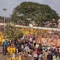 Sammakka Saralamma devotees not allowed to visit temple till march 21st