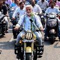 Vijaya Sai Reddy violates traffic rules