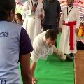 Rahul Gandhi push up video went viral