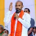 Bandi Sanjay fires after police arrested BJYM leader Bhanuprakash