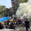 10 Dead In Myanmar As Police Fire To Break Up Protests