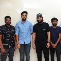 Uppena unit members met Allu Arjun