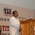 Venkaiah Naidu attends Tirupati IIT sixth institutional day celebrations