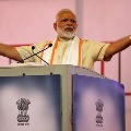 Narendra Modi attends election rally in West Bengal