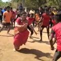 Roja plays Kabaddi in Chittoor district