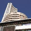 Sensex ends 254 points high