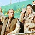 Nawaz Sharif warns PM Imran and top three military generals