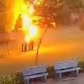 Struck by lightning 4 men in Gurugram live to tell their tale