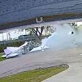 Aeroplane fell on a car in florida