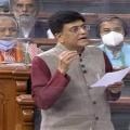 Union minister Piyush Goyal replies to YCP MP Gorantla Madhav query