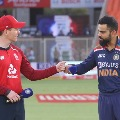 England win the toss in fourth T20 against India