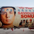 Spice Jet paints Sonu Sood picture in planes