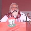 Congress Means Lies Confusion Corruption fumes PM Modi