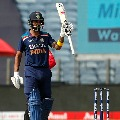 Rahul ton and Pant fireworks helps India to set huge target in Pune