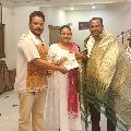 Actress Shakeela joins Congress party in Tamilnadu