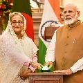 Sheik Haseena Gifted Gold Coins to Modi
